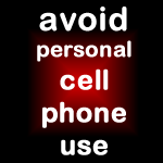 avoid cell phone use